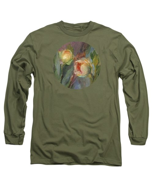 Evening Bloom Long Sleeve T-Shirt by Mary Wolf