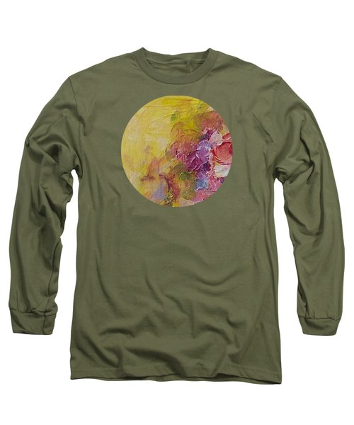 Floral Still Life Long Sleeve T-Shirt by Mary Wolf