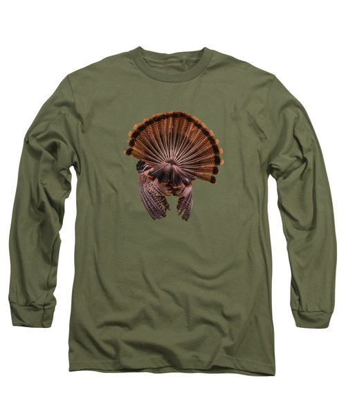 Back View Long Sleeve T-Shirt by Zina Stromberg