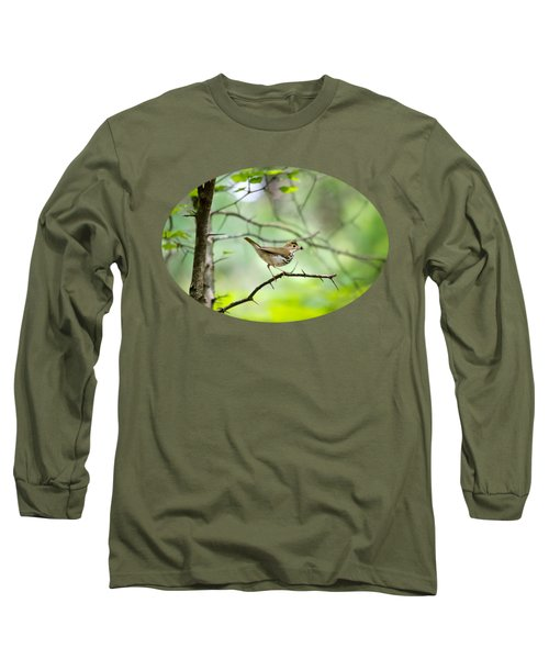 Beauty Of The Spring Forest Long Sleeve T-Shirt by Christina Rollo