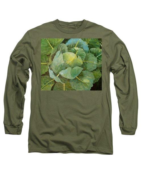 Cabbage Long Sleeve T-Shirt by Jennifer Abbot