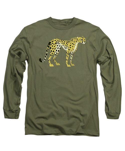 Cheetah Long Sleeve T-Shirt by Wild Kratts