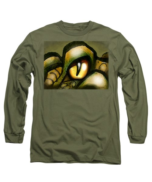 Dragon Eye Long Sleeve T-Shirt by Kevin Middleton
