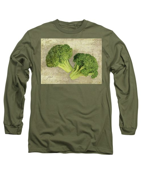 Due Broccoletti Long Sleeve T-Shirt by Guido Borelli