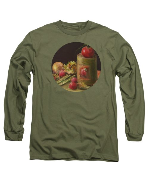 Freshly Picked Long Sleeve T-Shirt by Mary Wolf