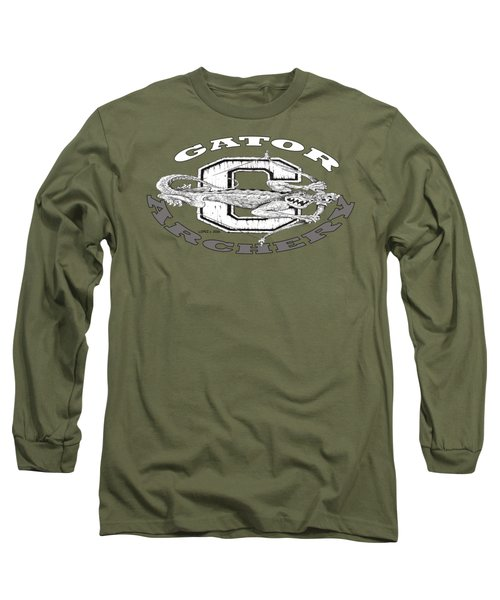 Gator Archery Long Sleeve T-Shirt by Julio Lopez