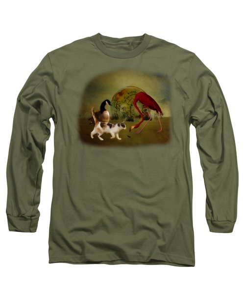 Global Initiative Long Sleeve T-Shirt by Terry Fleckney