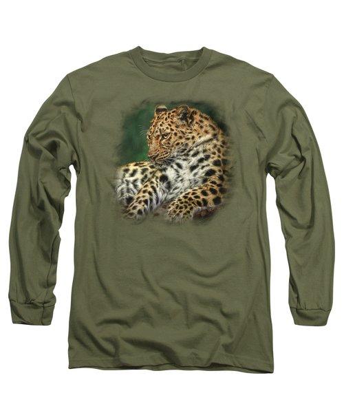 I'm Watching Long Sleeve T-Shirt by Sandy Oman