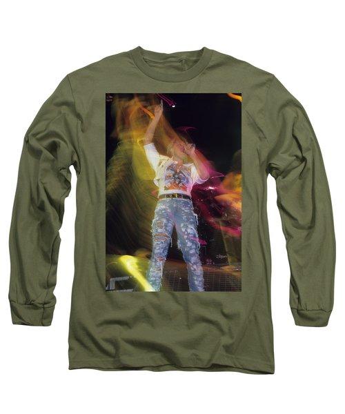 Joe Elliott Long Sleeve T-Shirt by Rich Fuscia