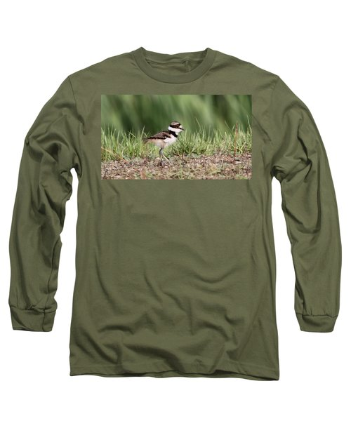 Killdeer - 24 Hours Old Long Sleeve T-Shirt by Travis Truelove