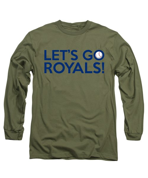 Let's Go Royals Long Sleeve T-Shirt by Florian Rodarte