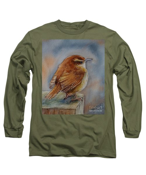 Little Friend Long Sleeve T-Shirt by Patricia Pushaw