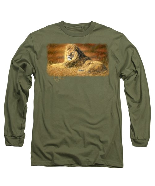 Majestic Long Sleeve T-Shirt by Lucie Bilodeau