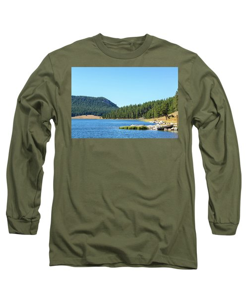 Meadowlark Lake View Long Sleeve T-Shirt by Jess Kraft