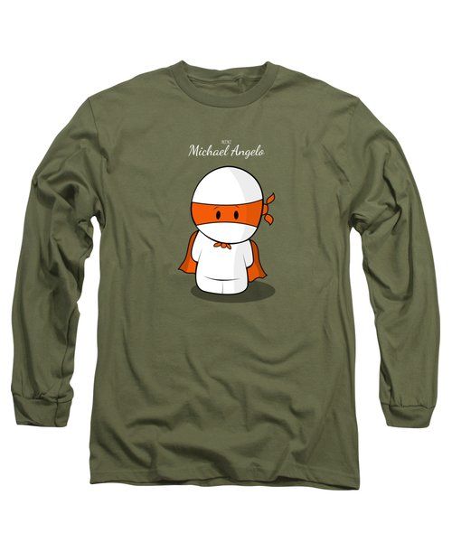 Mini Super Hero Long Sleeve T-Shirt by Islam Hassan