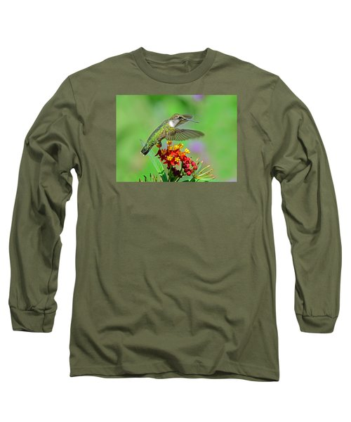 Long Sleeve T-Shirt featuring the photograph Nature's Majesty by Rodney Campbell