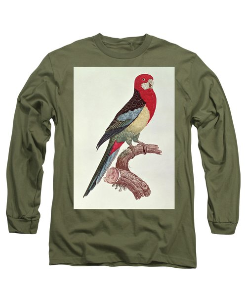 Omnicolored Parakeet Long Sleeve T-Shirt by Jacques Barraband