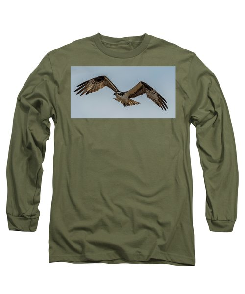 Osprey Flying Long Sleeve T-Shirt by Paul Freidlund
