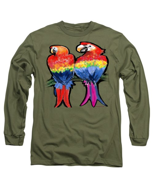 Parrots Long Sleeve T-Shirt by Kevin Middleton