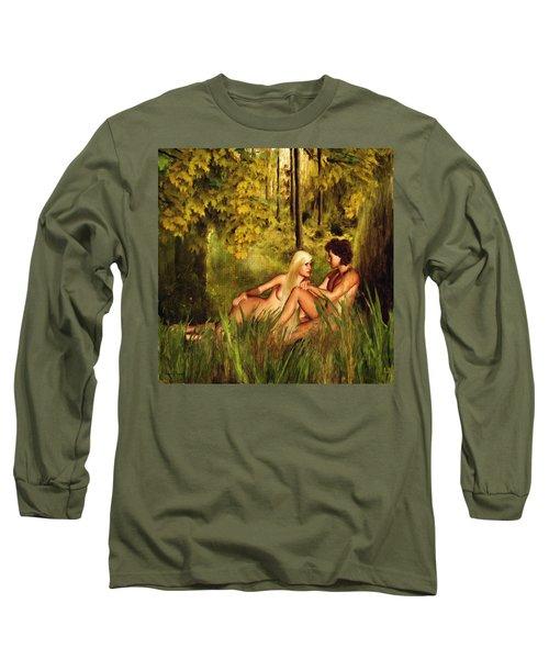 Pre-consciousness Long Sleeve T-Shirt by Lourry Legarde