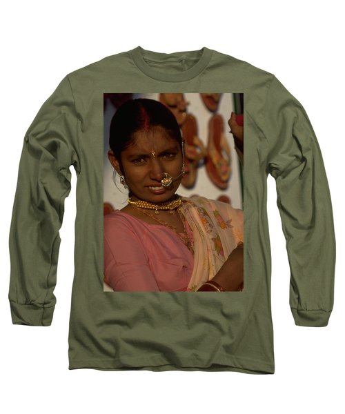Long Sleeve T-Shirt featuring the photograph Rajasthan by Travel Pics