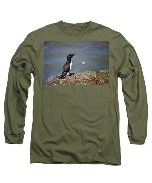 Razorbill Long Sleeve T-Shirt by Vicki Field