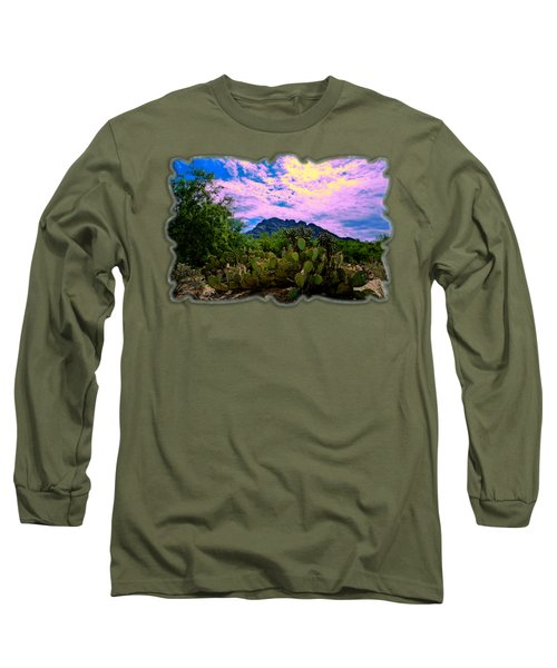 Sonoran Morning H54 Long Sleeve T-Shirt by Mark Myhaver