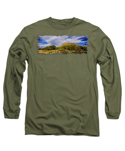 Southwest Summer Op14 Long Sleeve T-Shirt by Mark Myhaver