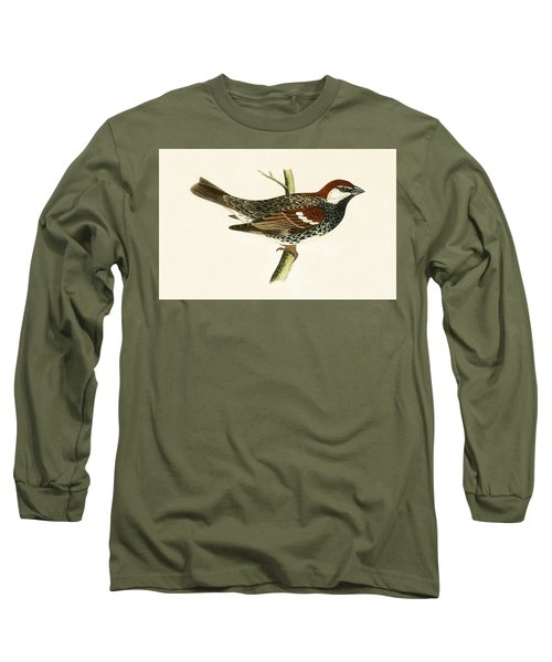 Spanish Sparrow Long Sleeve T-Shirt by English School
