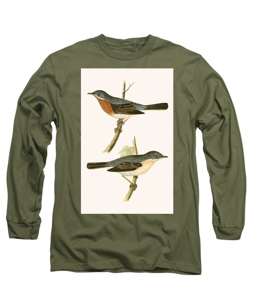 Sub Alpine Warbler Long Sleeve T-Shirt by English School
