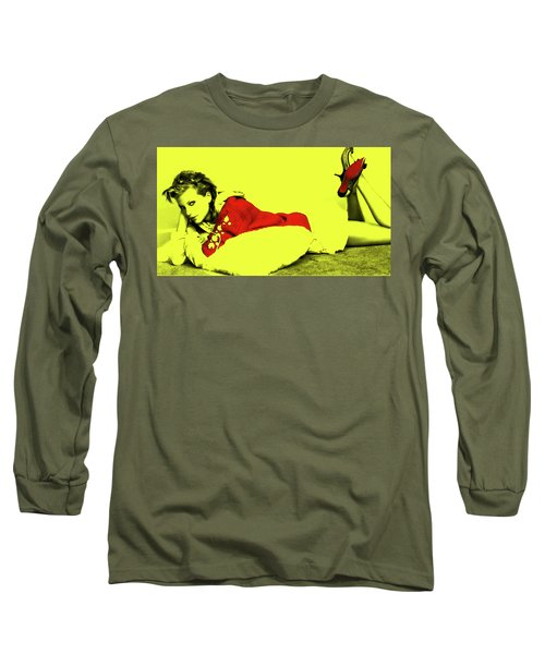 Taylor Swift 10r Long Sleeve T-Shirt by Brian Reaves