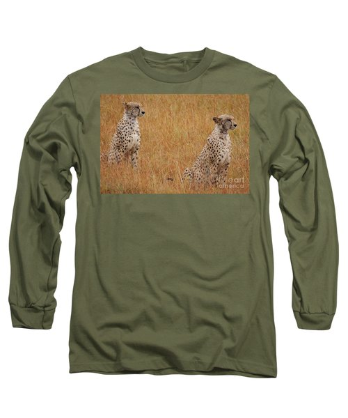The Cheetahs Long Sleeve T-Shirt by Stephen Smith