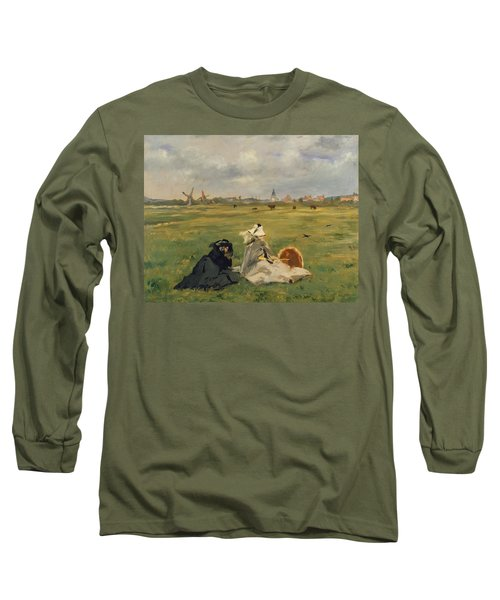 The Swallows Long Sleeve T-Shirt by Edouard Manet