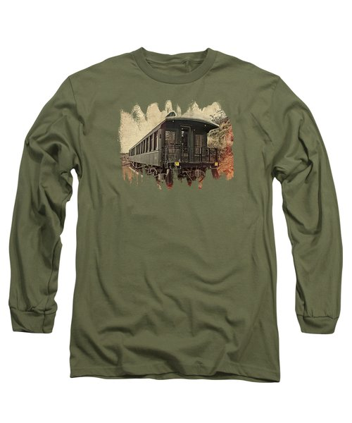 Virginia City Pullman Long Sleeve T-Shirt by Thom Zehrfeld