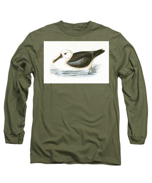 Yellow Nosed Albatross Long Sleeve T-Shirt by English School