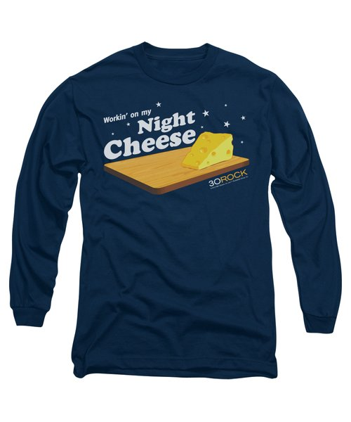 30 Rock - Night Cheese Long Sleeve T-Shirt by Brand A