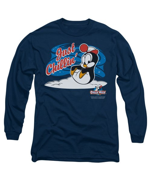 Chilly Willy - Just Chillin Long Sleeve T-Shirt by Brand A