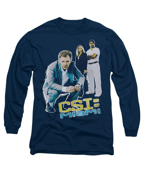 Csi:miami - In Perspective Long Sleeve T-Shirt by Brand A