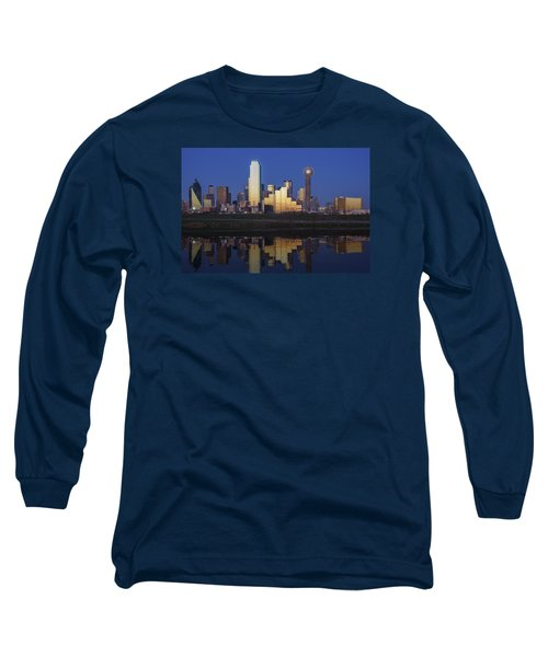 Dallas Twilight Long Sleeve T-Shirt by Rick Berk