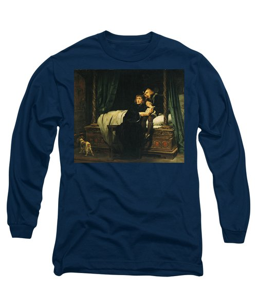 Edward V 1470-83 And Richard, Duke Of York In The Tower Les Enfants Dedouard 1830 Oil On Canvas See Long Sleeve T-Shirt by Hippolyte Delaroche