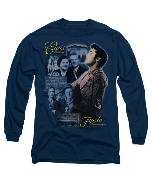 Elvis - Tupelo Long Sleeve T-Shirt by Brand A