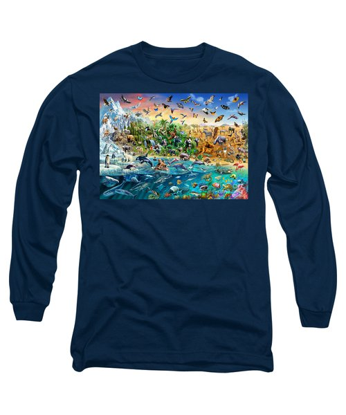Endangered Species Long Sleeve T-Shirt by Adrian Chesterman