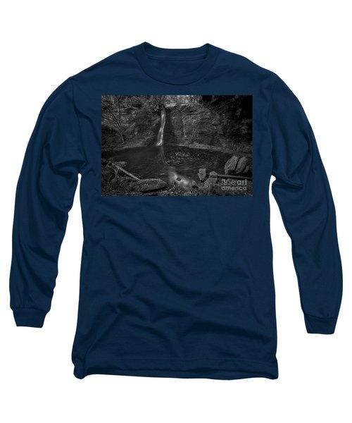 Hayden Swirls  Long Sleeve T-Shirt by James Dean