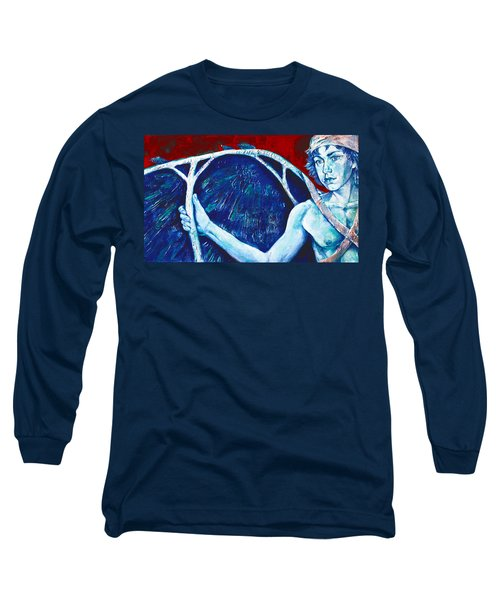 Icarus Long Sleeve T-Shirt by Derrick Higgins