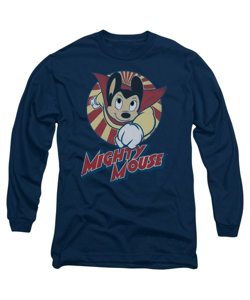 Mighty Mouse - The One The Only Long Sleeve T-Shirt by Brand A