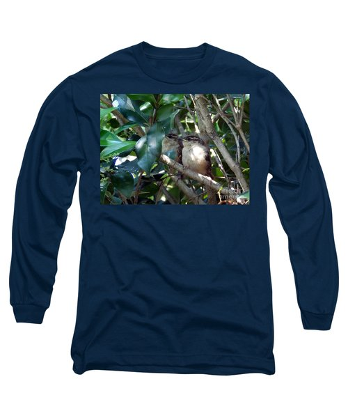 Now What Long Sleeve T-Shirt by Skip Willits