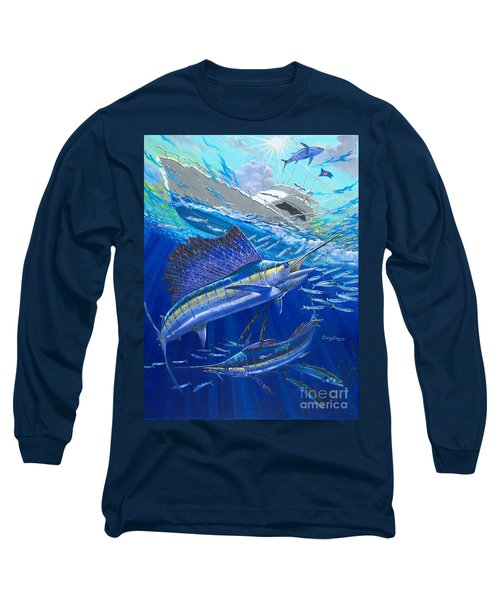 Out Of Sight Long Sleeve T-Shirt by Carey Chen