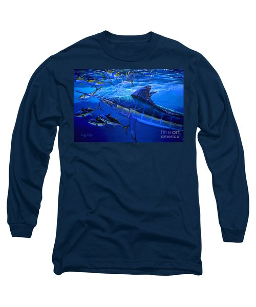 Out Of The Blue Long Sleeve T-Shirt by Carey Chen
