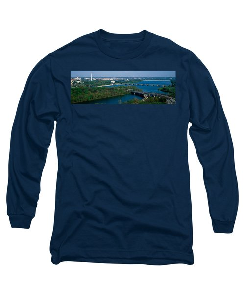 This Is An Aerial View Of Washington Long Sleeve T-Shirt by Panoramic Images