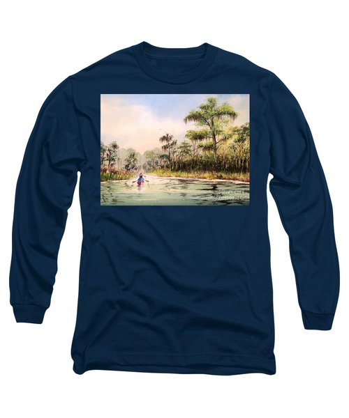 Wacissa River  Long Sleeve T-Shirt by Bill Holkham